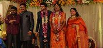 Actor Nizhalgal Raviee Son Wedding Reception Photos