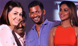 Vishal, Amala Paul, Aari, Nikki Galrani & more Celebs galore in 4th Annual TEA Awards - Pictures