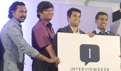 'Interview Desk' Launch - Pictures