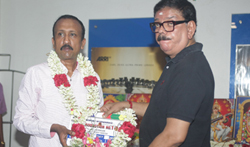 Udhayanidhi and Director Priyadarshan Movie Pooja - Pictures