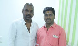 Raghava Lawrence Launch Kaaviyyan motion poster - Pictures