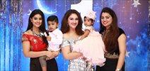 Celebrities at Sridevi Vijaykumar's Daughter Baby Rupikaa 1st Year Birthday Celebration Photos