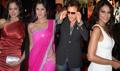Bipasha, Katrina and stylish bald Aamir at Race Premiere