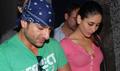 Saif and Kareena watch Bachna Ae Haseeno