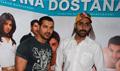 Abhishek John at Dostana Media meet