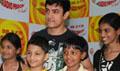 Aamir Khan Celebrates Childrens Day with Radio Mirchi