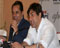 Dharmendra and Sunny Deol at Apne media meet