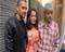Aftaab, Celina and Vikram at Red Media Meet