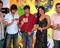 Sunny, Sameera and Vivek at Naksha Music Launch
