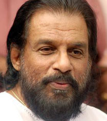 Kerala unable to honour singer Yesudas with lifetime award