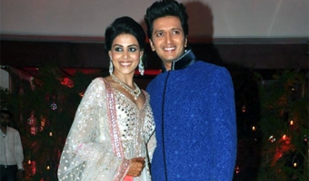 No free time for Riteish, Genelia until March