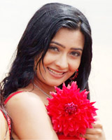 Radhika  Pandit keeping her fingers crossed