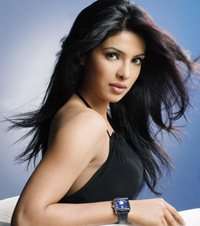 Priyanka Chopra launches official website