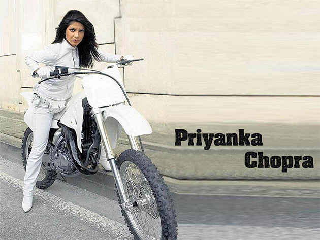 Biker beauties of Bollywood