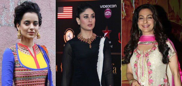 Bollywood beauties glamourise the 'salwaar-kameez'