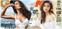 Hotness redefined through Nargis Fakhri & Parineeti Chopra magazine covers