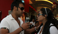 Ajay and Kajol watch Jumbo with kids