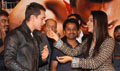 Aamir, Asin and Jiah at Ghajini success party