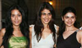 Govinda, Tushar, Prachi, Genelia & Amrita at LP success bash