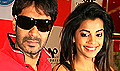 Ajay & Mughda promote All the Best at Provogue store