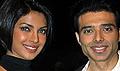 Priyanka and Uday promote Pyaar Impossible on DPL sets
