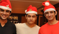 Aamir, Sharman and Maddy get into Santa mode for 3 Idiots