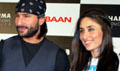 Saif & Kareena unveil Kurbaan game