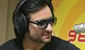 Saif promotes Love Aaj Kal on Radio Mirchi