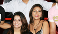 Aarti  Chhabria and Ashmit at Toss media meet