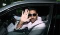 Abhishek Bachchan leaves after meet & Greet with Raavan Contest winners