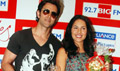 Hrithik & Barbara promote Kites at Big FM