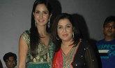 Katrina, Faarah on the sets of Jhalak Dikhla Jaa