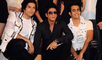 Always Kabhi Kabhi music launch with SRK