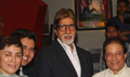 Big B at Tere Mere Phere premiere