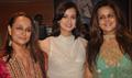 Diya Mirza ,Soni Razdan and Nandini at Ritu Kumar store