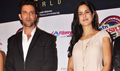 Hrithik and Katrina at the Music Launch of Main Krishna Hoon