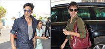 Akshay And Asin Leave For Dubai