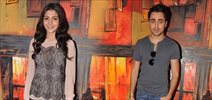 Anushka Sharma and Imran Khan at Red FM