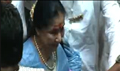 Asha Bhoshle At Lalbaugcha Raja For Blessing Her Movie 'MAI'