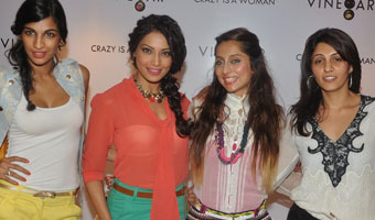 Bipasha Basu graces Vinegar fashion store launch