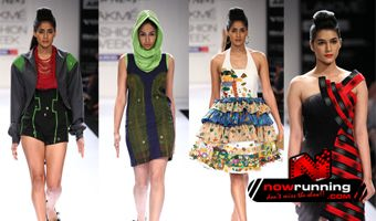 LFW: Jatin Verma, Vizyon showcase a glamorous, gothic collection