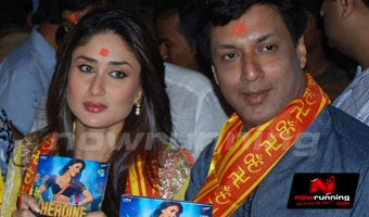 Music Launch of Movie Heroine at Siddhivinayak Temple