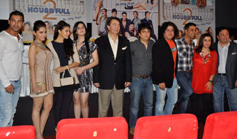 Housefull 2 first look launch