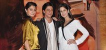 Shahrukh, Katrina & Anushka at Jab Tak Hai Jaan Press Conference