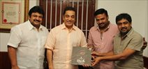 Kumki Team Met Kamal Haasan and invite him for Audio Launch