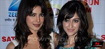 Priyanka and Ileana Promote Barfii on DID Sets