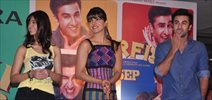 Ranbir Kapoor, Priyanka Chopra, Ileana Promote BARFI at R City Mall