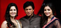 Shahrukh, Katrina and Anushka on India Got Talent Grand Finale