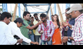 Simbu Celebrates Director Vijay Chandar Birthday at Vaalu Shooting Spot
