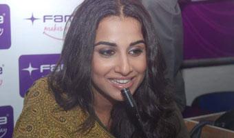 Vidya Balan Promotes Kahani